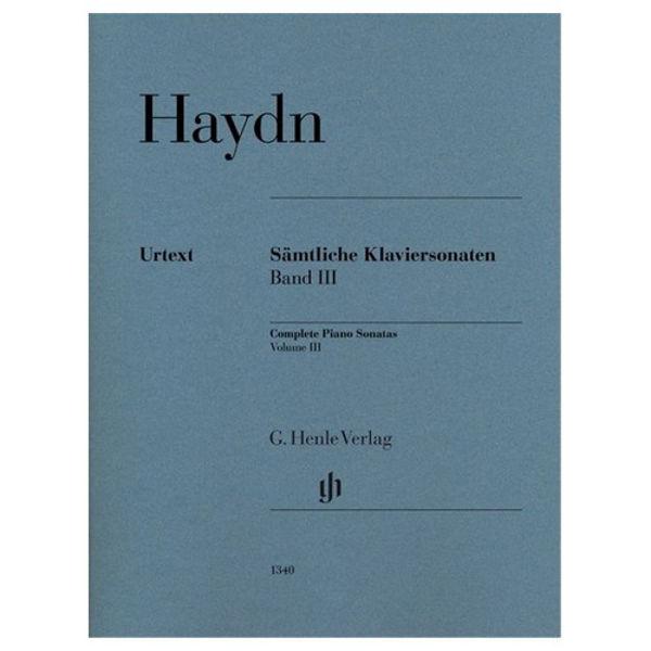 Complete Piano Sonatas, Volume III, Joseph Haydn - Piano solo