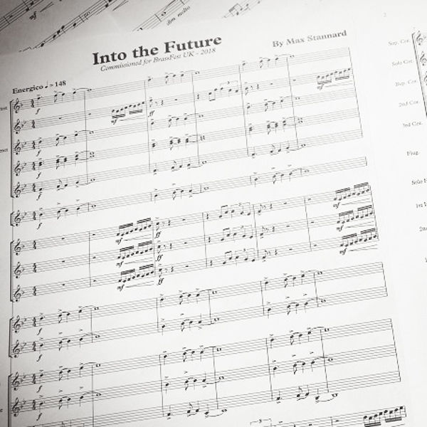 Into the Future - Max Stannard. Brass Band. Youth Band Version