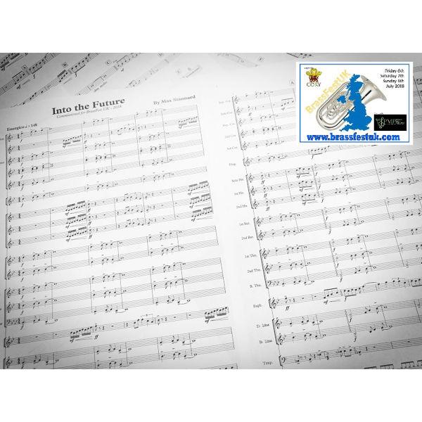 Into the Future - Max Stannard. Brass Band. Senior Band Version