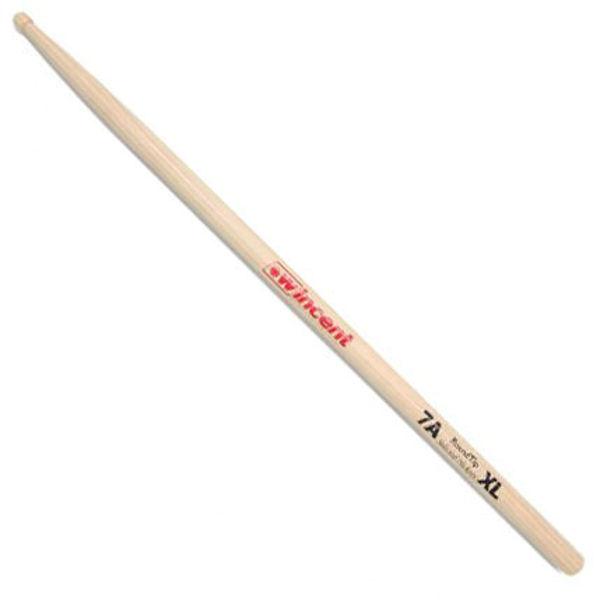 Trommestikker Wincent Hickory 7ARTXL Precision Round Tip, Wood Tip