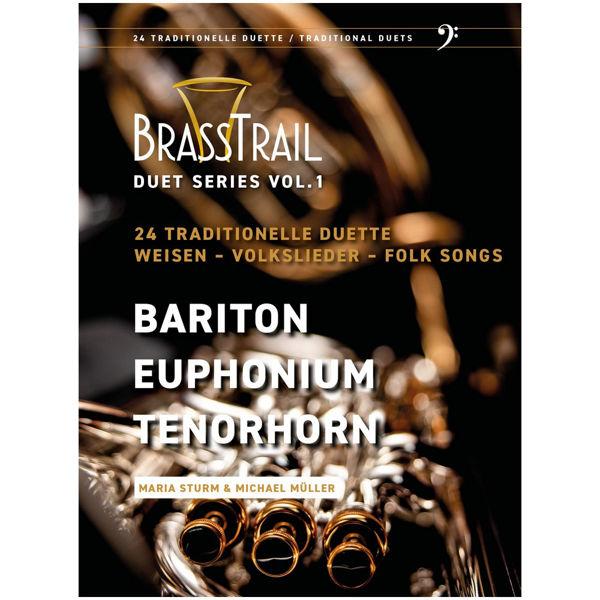 Brass Trail - BC - Duet Series Vol. 1 - Bariton, Euphonium, Tenorhorn