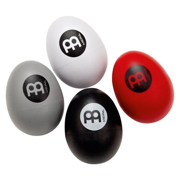 Egg Shaker Meinl ES-SET, 4 Stk, Soft-Medium-Loud-Extra Loud