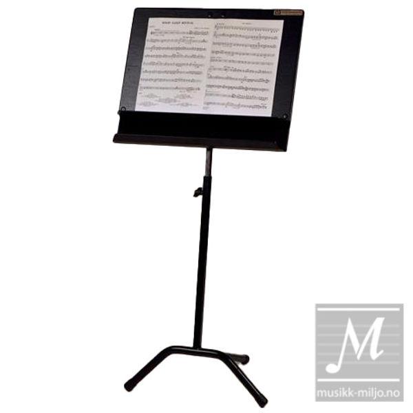 Notestativ Notabene Dirigent sort filt