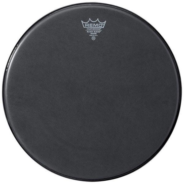 Trommeskinn Remo Suede Max KS-0814-00, Black, Crimplock 14