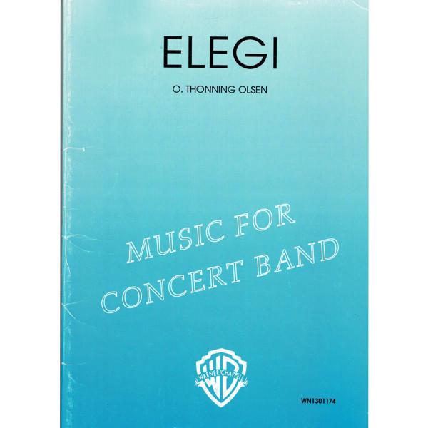 Elegi CB Thonning Olsen, Concert Band
