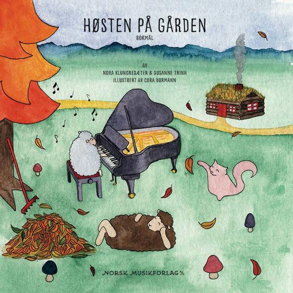 Høsten på gården, Pianolærebok - Bokmål