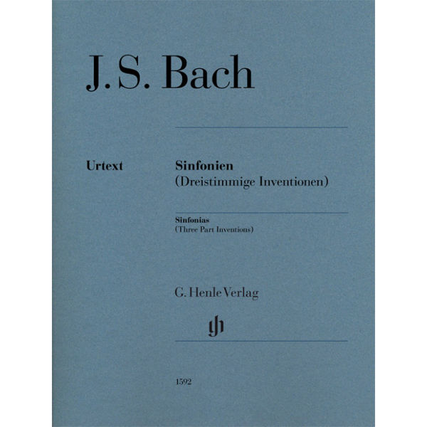 Sinfonias BWV 787-801 (Three part Inventions) (Edition without fingering) , Johann Sebastian Bach - Piano solo