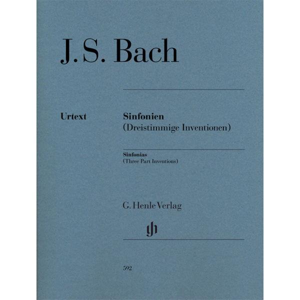 Sinfonias BWV 787-801 (Three part Inventions), Johann Sebastian Bach - Piano solo