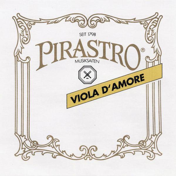 Bratsjstreng Pirastro D'Amore A Gut/Sølv, 4/4 16 1/4