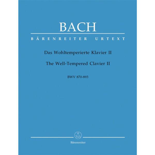 Das Wohltemperierte Klavier / The Well-Tempered Clavier Part 2, Johann Sebastian Bach - Piano solo