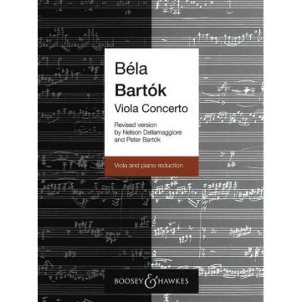Viola Concerto, Bela Bartok. Viola and Piano