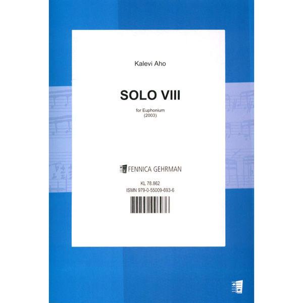 Solo VIII for Euphonium, Kalevi Aho
