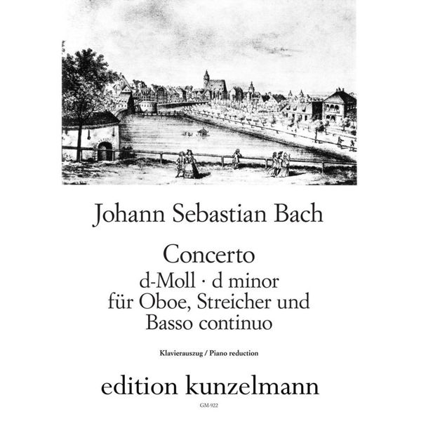 Concerto d-moll Oboe and Strings BWV1059 - Johann Sebastian Bach. Obo and Piano