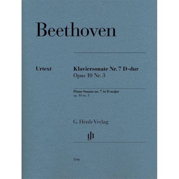 Piano Sonata No. 7 D major op. 10,3, Ludwig van Beethoven - Piano solo