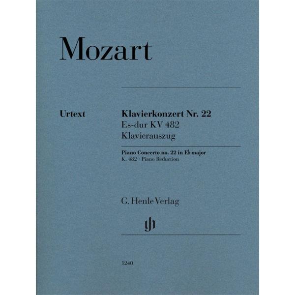 Klavierkonzert Nr. 22 Es-dur KV 482, Wolfgang Amadeus Mozart - 2 Pianos, 4-hands