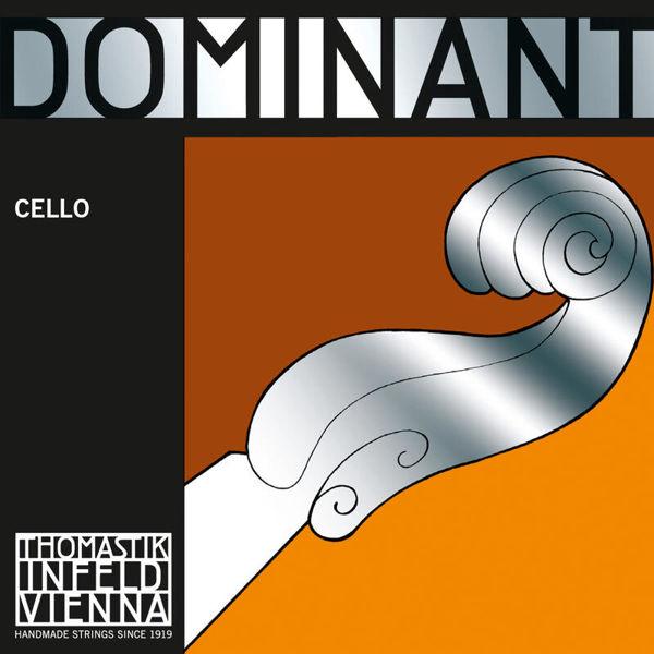 Cellostrenger Thomastik-Infeld Dominant 3/4 Medium Synthetic Core, Chrome Wound, Sett
