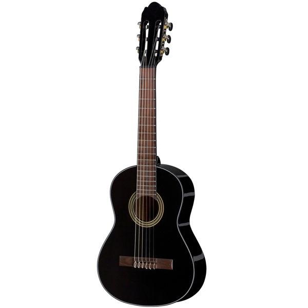 Gitar Klassisk Gewa Student 1/2 Sort