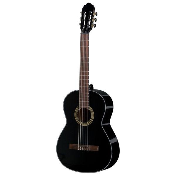Gitar Klassisk Gewa Student 4/4 Sort