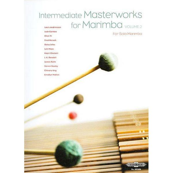 Intermediate Masterworks For Marimba Vol.2